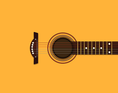 Sugbuanon Guitar Illustration
