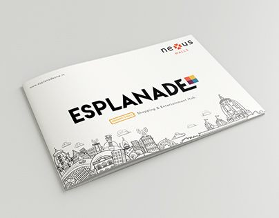 Booklet Design Esplanade One Mall