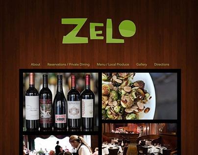 Information Design - Zelo Website ReDesign