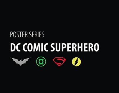 DC Comic Superhero Poster Series