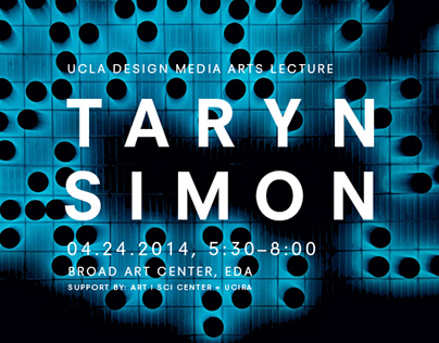 Designs for UCLA DMA lectures and exhibits