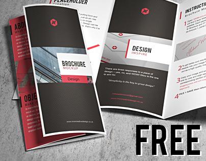 Free Brochure Mock-up