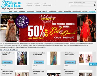 Fashion ka fatka - ecommerce fashion store