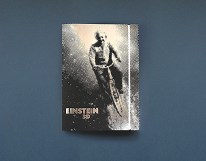 Einstein 3D Folder & Movie Poster