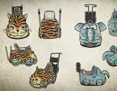 Concepts - Bebê FonFon Baby's Strollers