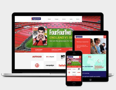 Haymarket website design