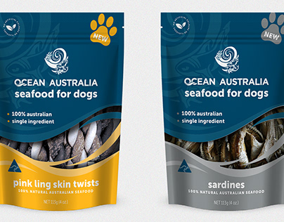 Retail Branding | Ocean Australia Pet Treats