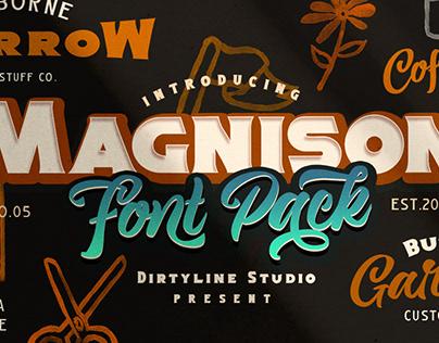 Magnison Font Pack
