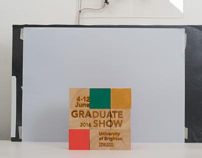 University of Brighton Graduate Degree Show 2016