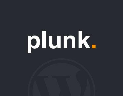 Plunk - WordPress Blog Theme