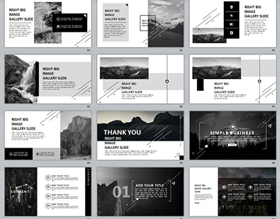 8 IN1 GRAY ANNUAL REPORT BUNDLE POWERPOINT