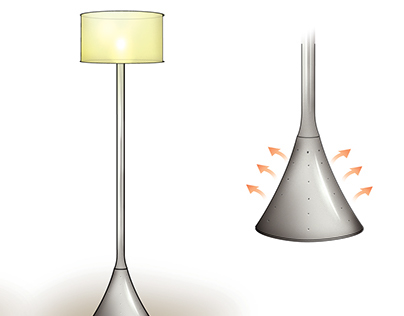 Heater Lamp Concepts | Industrial Design