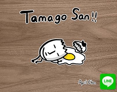 LINE Sticker:Tamago San