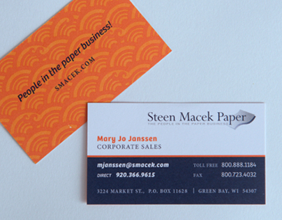 Steen Macek Paper : Brand Refresh