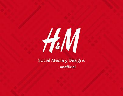 H&M | Social Media designs