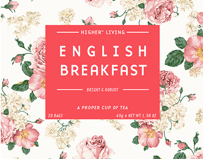 Higher Living Rose Tea