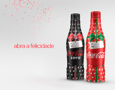 Vinheta de Natal Coca Cola
