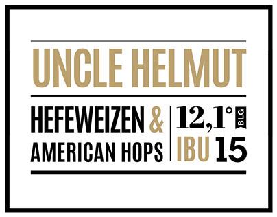 Beer label typographic series