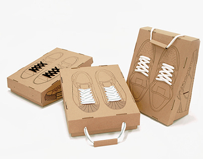 Recycling Shoe Box