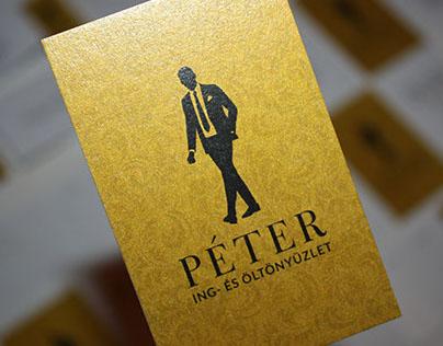 Peter, identity design