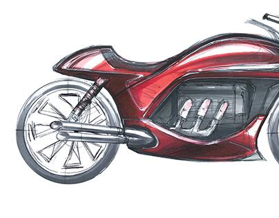 "INKTOBER ""19 Biketober"