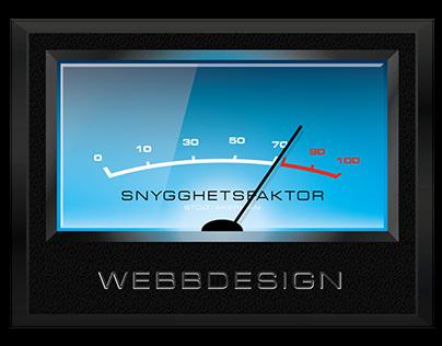 VU-meter for WEB design