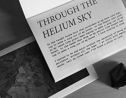 Through The Helium Sky