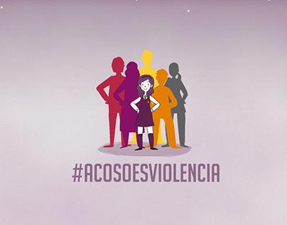 #AcosoEsViolencia OCAC Chile