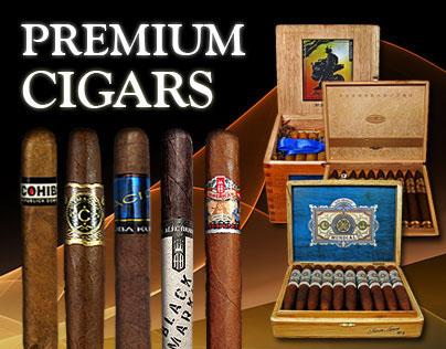 Web Graphics - Gotham Cigars