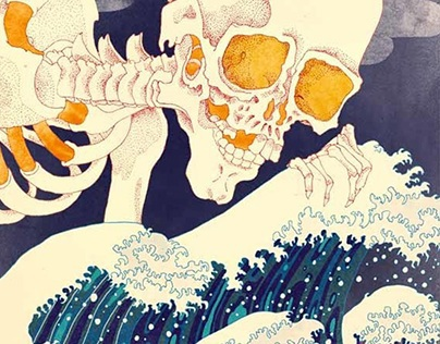 Tsunami Illustration