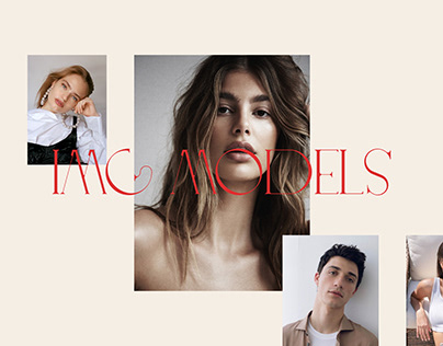 IMG MODELS – Redesign concept