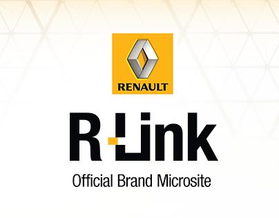 Renault R-Link Microsite