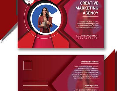 Business Post Card Design Template