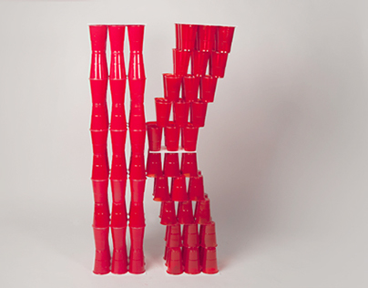 Structure of plastic cups