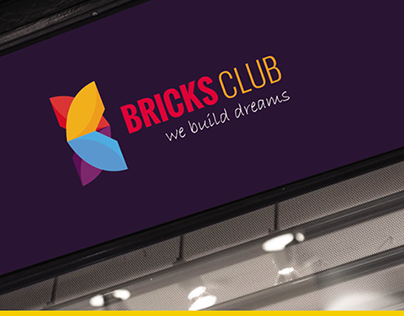 BRICKS CLUB LOGO DESIGN