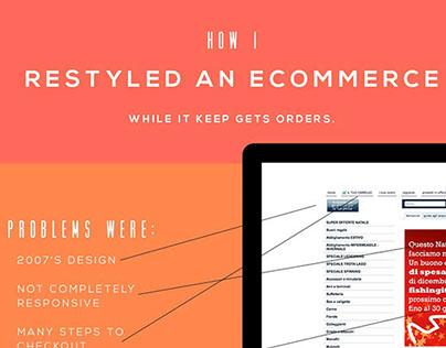 E-commerce restyle