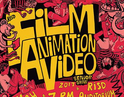 RISD FAV Show Posters