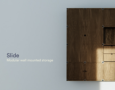 Slide | Wall mounted storage