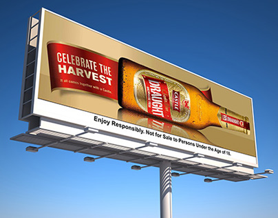 Castle Draught Billboard