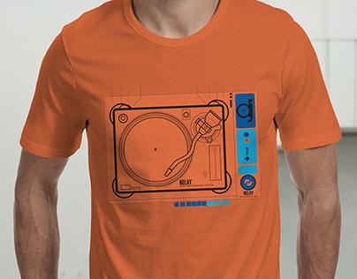 Relay Markhams Brand Shirt Print