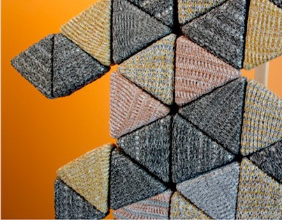 Prototype: Modular Knit Acoustical Wall Panel