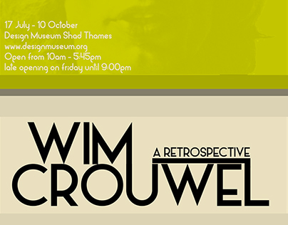 Wim Crouwel poster