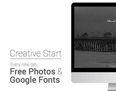 CreativeStart - Chrome Extension