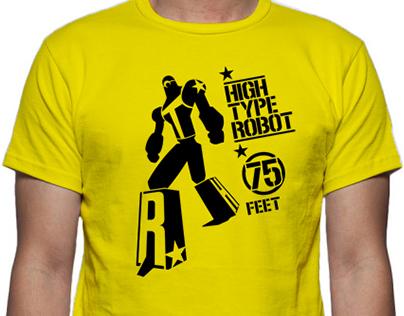 High Type Robot T-Shirt