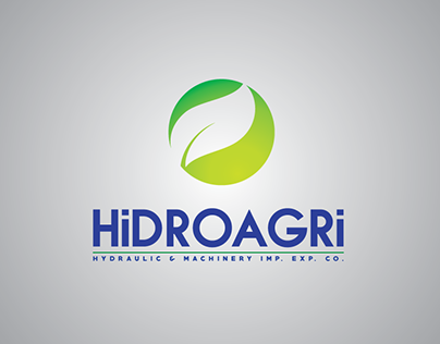 """Hidroagri"" Logo Design"