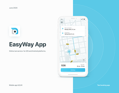 EasyWay – Taxi Booking App
