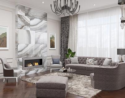 LUBIMOVKA living room
