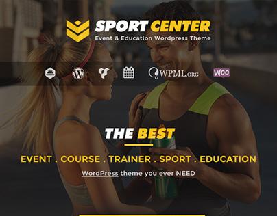 Sport Center - Event & Education Wordpress Theme