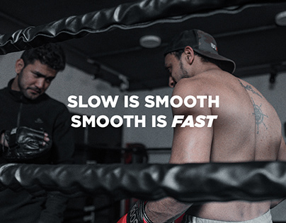 Boxing | Slow is smooth. Smooth is fast.