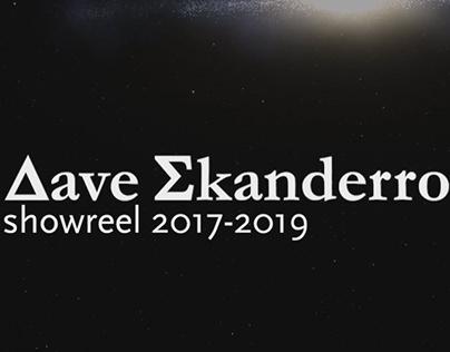 Dave Skanderro showreel 2019-20